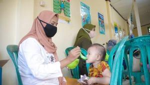 Pertamina Sehati, Salurkan Makanan Bergizi untuk Anak-Anak