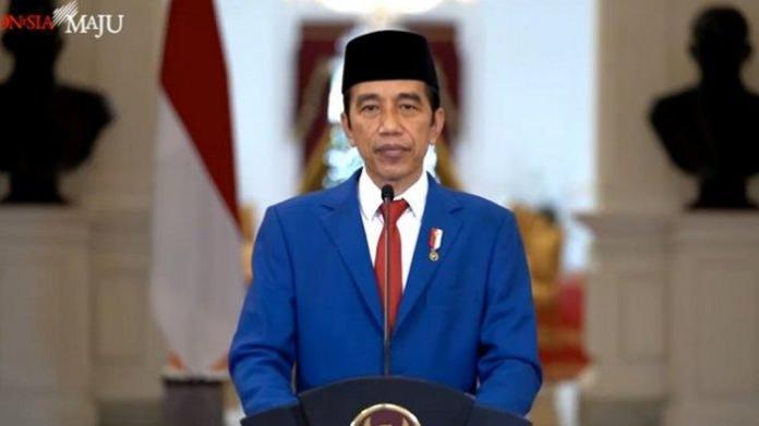 Presiden Jokowi Peran Besar Para Ulama, Kiai, Santri dalam Menjaga NKRI