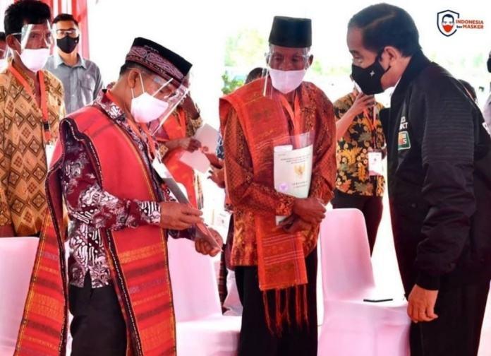 Presiden Jokowi ke Sumatera Utara, Serahkan 22.007 Sertifikat Tanah