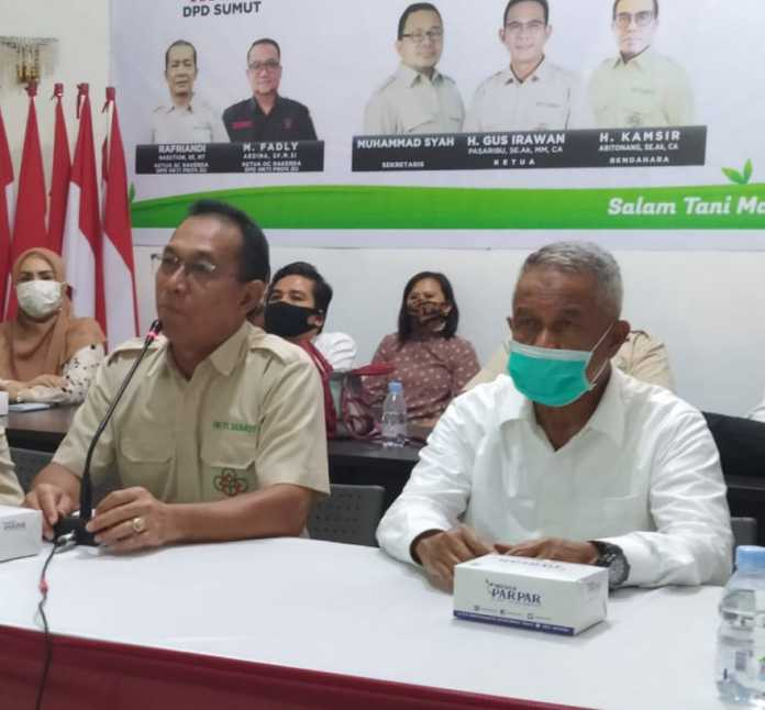 Rakerda HKTI Sumut, Gus Irawan Momentum Perkuat Sektor Pertanian