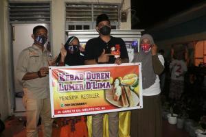 Bobby Nasution Kunjungi Kebab Durian, Penjualan Meroket