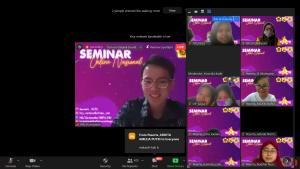 Gelar Seminar Online Nasional, HMJ Matematika FMIPA UNM Resmi Buka Acara Tahunan GEOMETRI 2020