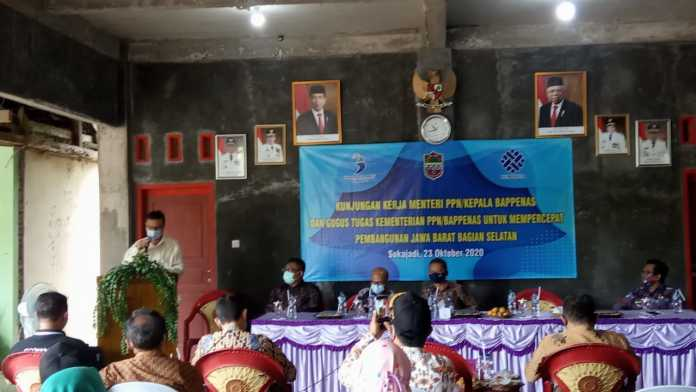 Kementerian PPN/Kepala Bappenas, Kunker Percepatan Pembangunan Jabar Bagian Selatan