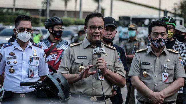 Anies Baswedan, Minta Tempat Kerja 18 Anggota DPR RI Positif COVID-19 Ditutup