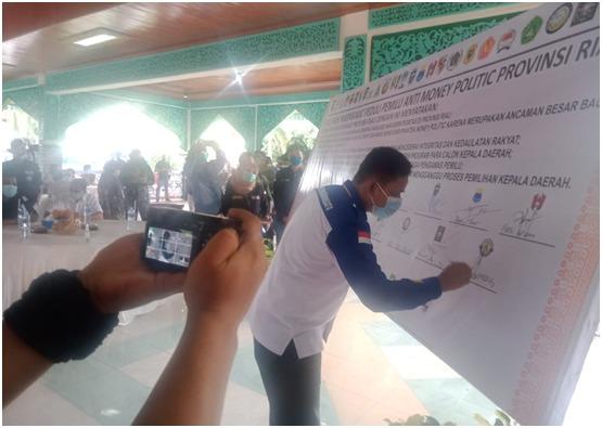 Barisan Muda Riau Bersatu (BMRB), Ikut Andil Dalam Deklarasi Masyarakat Pengawas Pemilukada