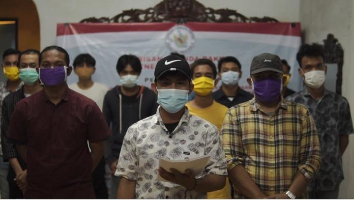 Barisan Pemuda Rakyat Penegak Pancasila, Kritik Kerumunan Massa FPI