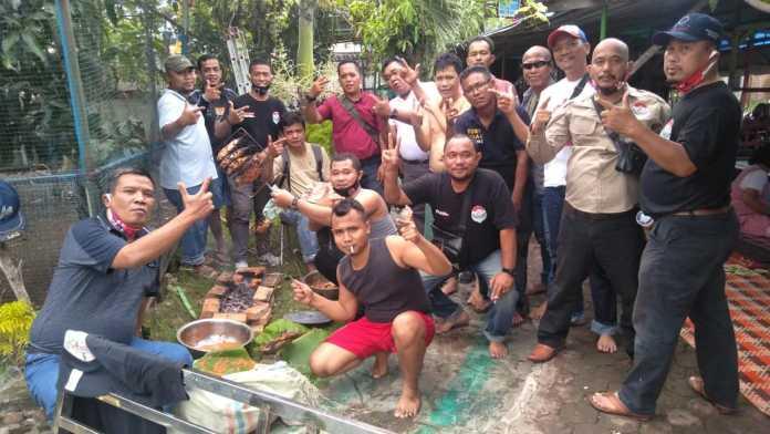 Relawan Bobby - Aulia, Ketum Re-Born Motivasi Anggota untuk terus Sosialisasi menjelang Pilkada
