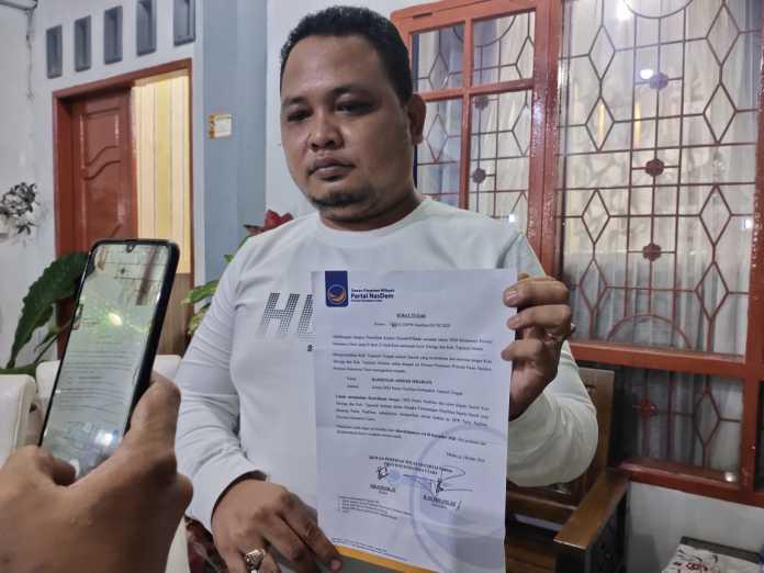 DPW NasDem Sumut Tugaskan Bakhtiar Menangkan Pilkada Kota Sibolga dan Tapsel