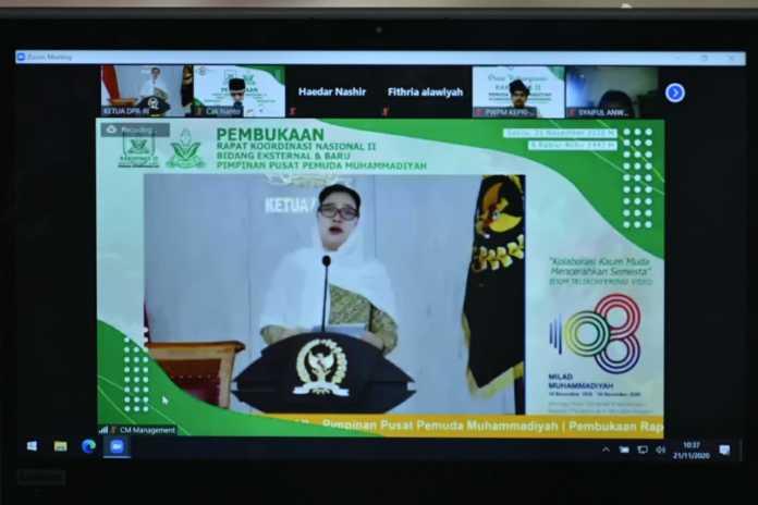 Kata Puan, Pemuda Muhammadiyah Menjaga dan Menentukan Masa Depan Indonesia