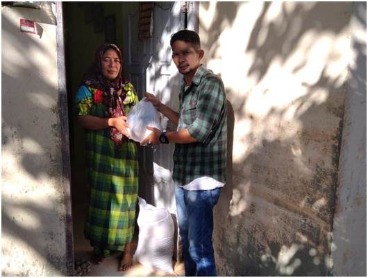 Istri Alm Husaini Saleh : Tolong Sampaikan Rasa Terimakasih kepada Orang Baik Itu