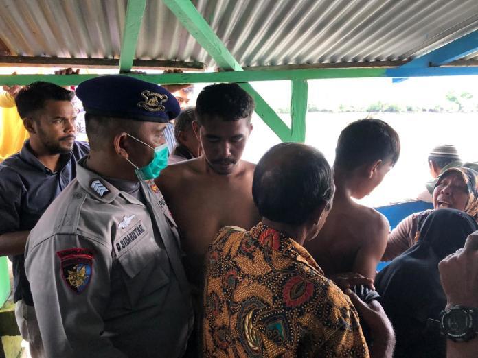 Kapal Pukat Lingkung Karam, 9 Nelayan Serdang Bedagai Selamat
