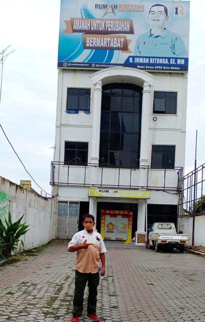 Ihwan Ritonga, Ketua DPC Gerindra Kota Medan, Terkesan Separuh Hati Menangkan Paslon Bobby-Aulia