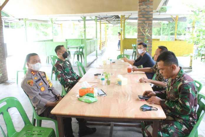 Kapolres Serdang Bedagai, Ajak Dandim 0204DS Sukseskan Pilkada Serentak