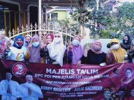 Ketua Majelis Ta'lim PDIP Medan, Kuatkan Pendukung Bobby-Aulia di Medan Amplas
