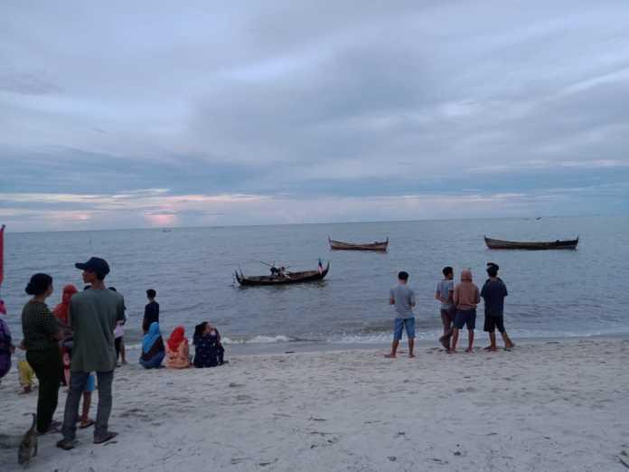 Nelayan Pantai Cermin Tenggelam, Usai Digoyang Ombak