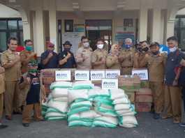 DPC APDESI Ciamis, Salurkan Bantuan kepada Korban Banjir dan Longsor di Banjaranyar dan Banjarsari