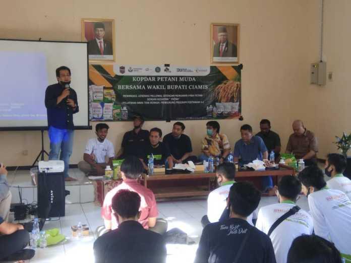 Wakil Bupati Ciamis: Komunitas Petani Muda Harus Jadi Embrio Kebangkitan