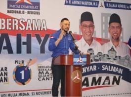 """AHY: """"AMANkan Medan, AMANkan Suara"""""""