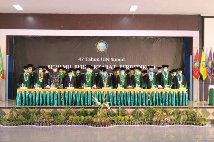 Wisuda ke-75 UIN-SU, Ini Penjelasan Prof Syahrin Harahap Soal Integrasi Ilmu