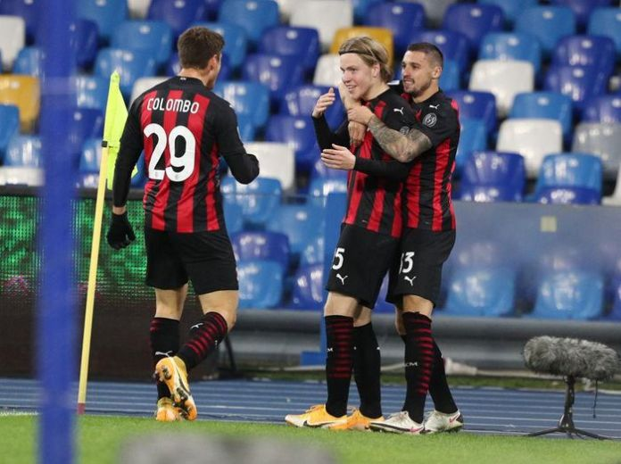 9 Data-Fakta Napoli vs AC Milan