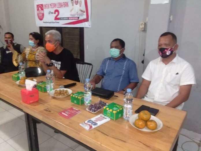 Gubernur Jawa Tengah bersama Relawan Bonus (Bobby Nasution Untuk Semua) Menyapa Komunitas Jawa di Medan