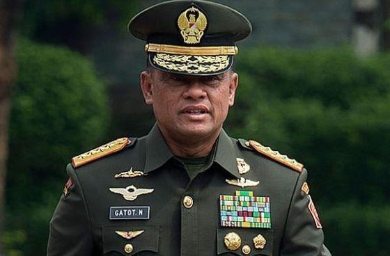 Gatot Akui Tidak Bisa Tolak Penghargaan dari Presiden Joko Widodo