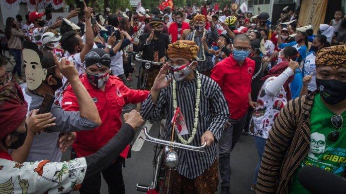 FPI Minta Kerumunan Gibran Diproses, Polri: Itu Kan Urusannya Pilkada