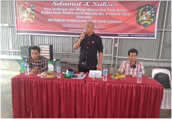 Robi Barus, Perda No 9 Tahun 2012 Mengatur Aset Milik Pemerintah Kota Medan