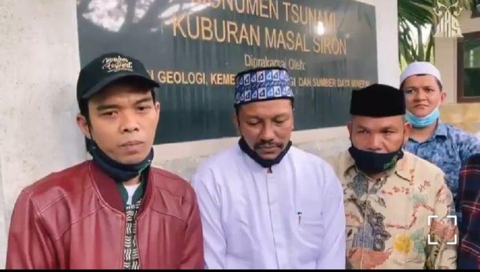 Ustadz Abdul Somad, Ziarah ke Makam Korban Tsunami Aceh