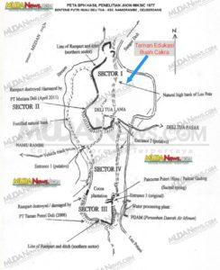 Peta Benteng Putri Hijau