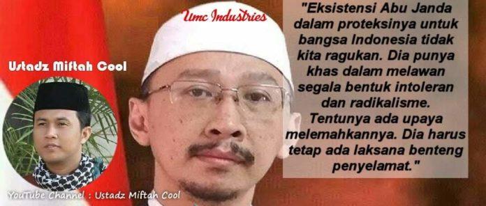 Abu Janda, Indonesia Membutuhkannya