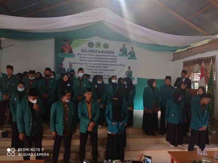 Resmi di Lantik, Rahmad Syahputra Nahkodai BEM STIT Al-Washliyah Kota Binjai