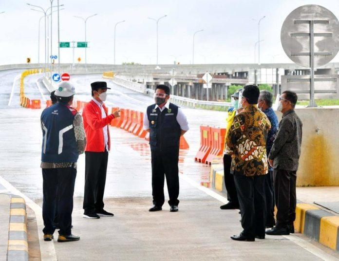 Jalan Tol Kayu Agung-Palembang