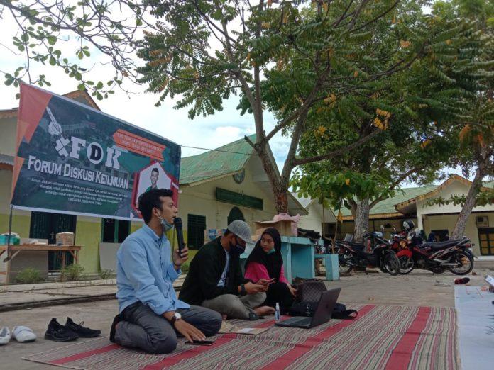 Forum Diskusi Keilmuan, Gelar Diskusi Perdana Bertajuk 'Mahasiswa Masa Kini Bisa Apa?'