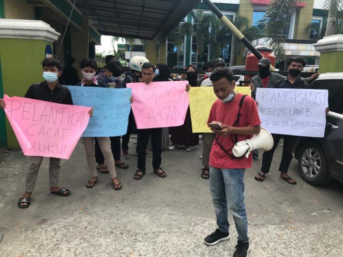 GEBAK Demo Kanwil Kemenag Sumut