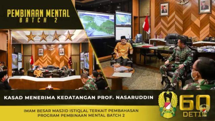 Jenderal TNI Andika Perkasa, Menerima Kedatangan Imam Besar Masjid Istiqlal