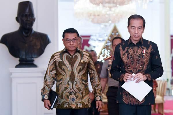 Jokowi Kantongi Nama Calon Kapolri Pengganti Idham Azis