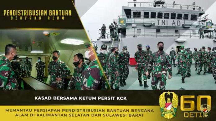 Jenderal TNI Andika Perkasa, Memantau Persiapan Pendistribusian Bantuan Bencana Alam di Kalsel dan Sulbar