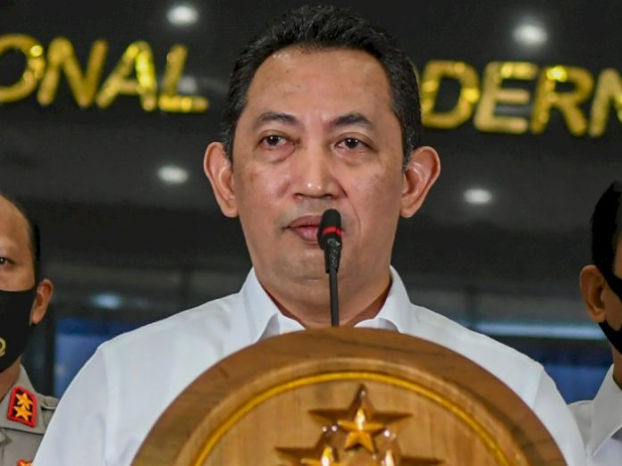 Presiden Jokowi Pilih Listyo Sigit Prabowo Jadi Calon Kapolri Tunggal