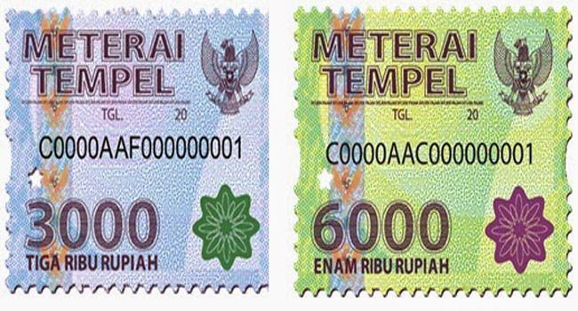Materai Rp 10.000
