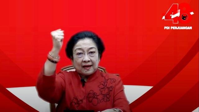 HUT PDI Perjuangan ke-48, Megawati Ajak Kader Jaga Lingkungan Hidup
