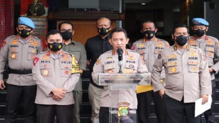 Latar Belakang Jokowi Tunjuk Listyo Sigit Prabowo sebagai Kapolri