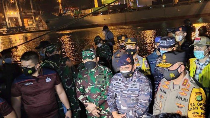 TNI AL Temukan Koordinat Jatuhnya Sriwijaya Air SJ 182, 5 KRI Dikerahkan