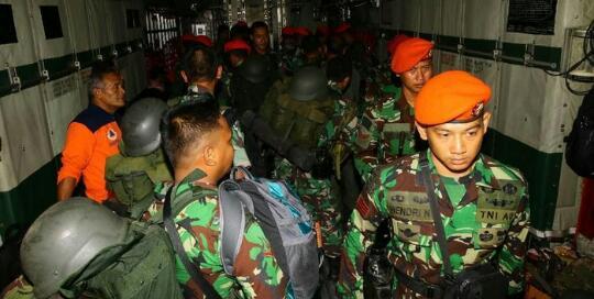 Pencarian Sriwijaya Air SJ182 Jatuh, TNI AU Siagakan Heli-Pesawat dan Kopaskhas