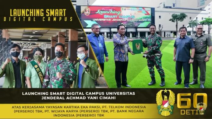 Jenderal Andika Perkasa, Hadiri Launching Smart Digital Campus Universitas Jenderal Achmad Yani