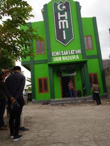 Gedung Baru Graha Insan Cita Komisariat HMI IAIN Madura