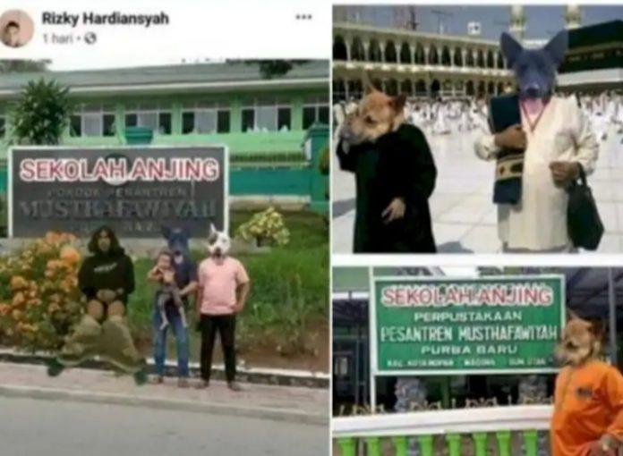 Pejuang Islam NUsantara Sumatera Utara Minta Poldasu Usut dan Tangkap Penghina Ka'bah dan Ponpes Al Musthafawiyah