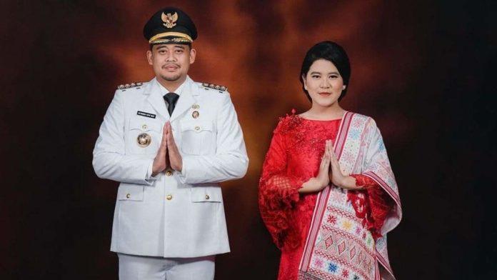 Busana Nusantara Istri Walikota Medan & Solo