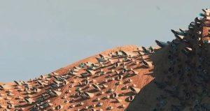 Foto-foto Rancangan Kota di Planet Mars untuk Manusia