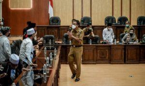 Buntut Kasus Hukum HRS, FUI Ciamis Gelar Aksi di Depan Kantor DPRD